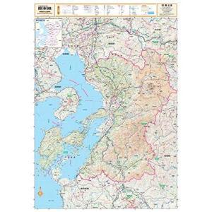 ポスター地図 | マップル (スクリーンマップ 分県地図 熊本県)|shopnoa