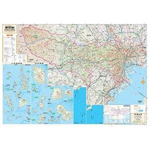 スクリーンマップ 分県地図 東京都 (分県地図 13)|shopnoa