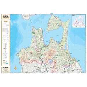 スクリーンマップ 分県地図 青森県 (分県地図 2)|shopnoa