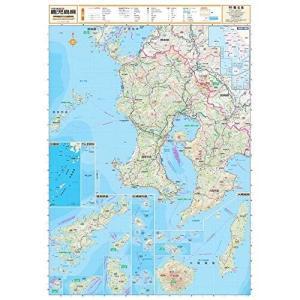スクリーンマップ 分県地図 鹿児島県 (分県地図 46)|shopnoa
