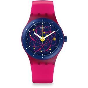 スウォッチSWATCH 腕時計 SISTEM51(システム51) 機械式自動巻き SISTEM PINK SUTR401 メンズ 正規輸入品|shopnoa