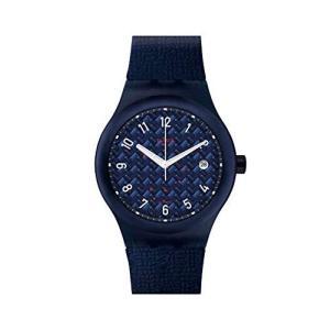 スウォッチSWATCH 腕時計 Sistem51 (システム51) SISTEM NOITE (システム・ノイチ) メンズ SUTN405|shopnoa
