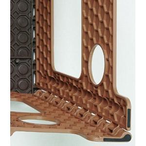 トレードワン 踏み台 セノ・ビー NEW 22cm ブラウン 10055