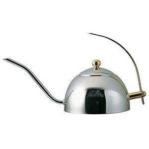 カリタ コーヒーポット ステンレス製 日本製 茶こし付き 600ml 600S #52039