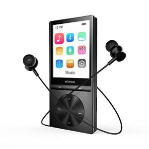 mp3プレーヤー bluetooth対応 内蔵16GB 合金製 録音/FMラジオ機能搭載 音楽プレーヤー hifi超高音質 マイクロSDカー|shopnoa