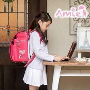 女の子 アミィモデル ラヴニールランドセル フィットちゃんランドセル 手作り 職人 A4フラットファイル収納サイズ キューブ型 日本製 お花|shopnoa