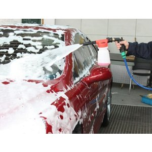 クェルサ(Crusar)洗車フォームガン 説明書付き ウォッシュガン 洗車機 ウォッシュ 高発泡でピッカピカ 強力泡洗浄器 FOAMGUN|shopnoa