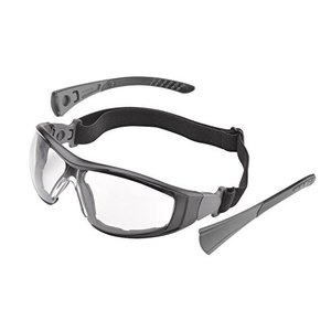 Elvex?G45G セイフティーメガネ ゴーグルタイプ フレームクッション付 耐衝撃 強化レンズ使用 バイク 自転車 花粉症対応の画像