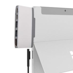 TSdrena Surface Go (サーフェス ゴー) 専用ドッキング USB Type C ハブ HDMI 変換/USB-C PD充電|shopnoa