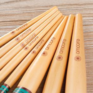 amoore 8本 化粧筆 メイクブラシセット 化粧ブラシ セット コスメ ブラシ 収納ケース付き|shopnoa