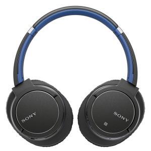 ソニー SONY ワイヤレスノイズキャンセリングヘッドホン MDR-ZX770BN : Bluetooth対応 マイク付き ブルー MDR-|shopnoa