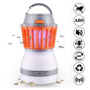 CELLSTAR 蚊取り器 電撃殺虫器 照明両用 誘虫灯 捕虫器 蚊 害虫 誘蛾 ハエ 取り 屋外 アウトドア 室内用 LED キャンプライ|shopnoa