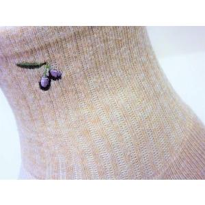 オリーブサラ 足袋ソックス(2本指靴下) (ベージュ)