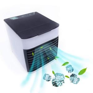 冷風機 KUSAMA 2019年改良版 ミニ 扇風機 usbクーラー 卓上冷風機 風量3段階 ミニクーラー 加湿機能/冷却機能/空気清浄機能|shopnoa