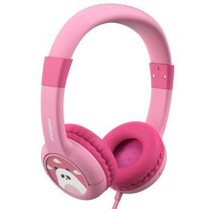 Mpow 子供用ヘッドフォン かわいいパンダ仕様 有線 ヘッドセット ワイヤレス ヘッドホンか シェ...