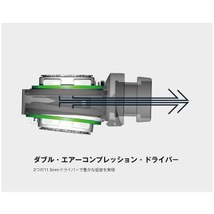 DENON カナル型イヤホン ハイレゾ音源対応/デュアルドライバー ブラック AH-C820-BK|shopnoa