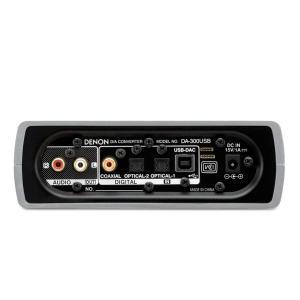 DENON USB-DAC ヘッドホンアンプ ハイレゾ音源対応 シルバー DA-300USB-S|shopnoa