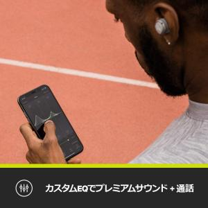 Jaybird RUN XT 完全ワイヤレスイヤホン Bluetooth/防水・防汗対応(IPX7) グレー JBD-RUN-002GR 国|shopnoa