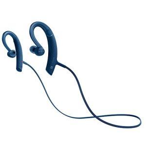 ソニー SONY ワイヤレスイヤホン MDR-XB80BS : 防水/スポーツ向け Bluetooth対応 リモコン・マイク付き ブルー M|shopnoa