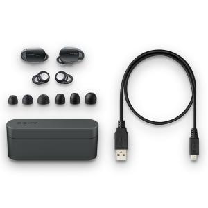 ソニー SONY 完全ワイヤレスノイズキャンセリングイヤホン WF-1000X : Bluetooth対応 左右分離型 マイク付き 2017|shopnoa
