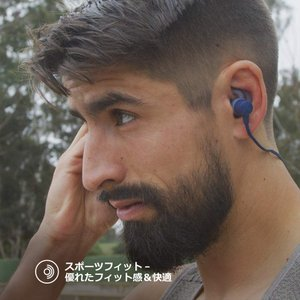 Jaybird TARAH ワイヤレスイヤホン Bluetooth/防水・防汗対応(IPX7)/連続再生6時間/スポーツ対応 グレー JBD|shopnoa