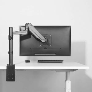 HUANUO PC モニター アーム 液晶ディスプレイ アーム ガススプリング式 ガス圧式 17?32インチ対応 耐荷重1-8kg|shopnoa