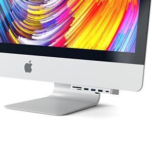 Satechi アルミニウム Type-C クランプハブ Pro USB-C データポート, 3 USB 3.0, Micro/SDカードリ|shopnoa