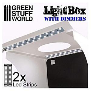 グリーンスタッフワールド LED付ボックス 撮影ブース 21×21×21cm GSWD-1684|shopnoa