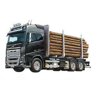 タミヤ 1/14 電動RCビッグトラックシリーズ No.60 ボルボ FH16 グローブトロッター750 6x4 ティンバートラック 563|shopnoa