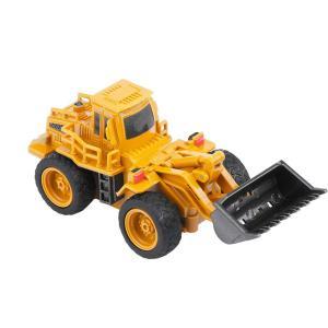 TOPINCN リモコンショベルトラック掘り玩具 RCクレーン ミニ建設車両 キッズギフトショベルカー ラジコン 掘削機 ブルドーザー 多機 shopnoa