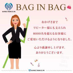 VACANZA バッグインバッグ フェルト 小さめ 軽量 コンパクト A5 サイズ 11色 レディー...