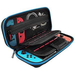 スイッチ ケース,Findway ニンテンドースイッチ用のキャリングケース 旅行用収納バッグ 大容量 ハード 防塵 ショック防止 全面保護 shopnoa