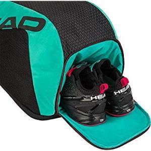 ヘッド(HEAD) 硬式テニス リュック ラケットバッグ ツアーチーム バックパック ラケット4本収納可能 BKTE 283170 shopnoa