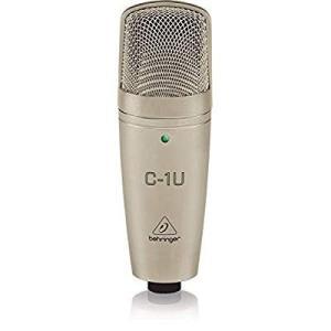ベリンガー USBコンデンサーマイク ボーカル スタンドマウント付き C-1U