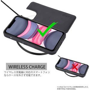 iPhone 11 ケース 手帳型 ワイヤレス充電対応 米軍軍事規格 スマホケース iPhone 1...