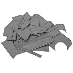 クロスビー ドア ポケット マット/シート 滑り止め (新型ラバーマット) ブラック 18P 車種専用設計 shopnoa