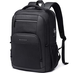 Bange リュック メンズ 大容量 リュックサック ビジネス PCバッグ USBポート 15.6インチノートPC収納 ブラック shopnoa