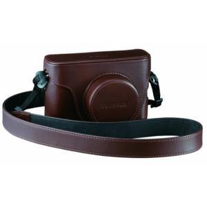 FUJIFILM デジタルカメラケース ブラウン LC-X100|shopnoa