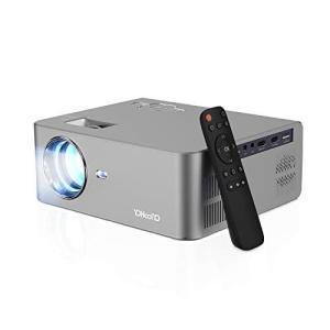 YOHOOLYO プロジェクター 1080PフルHD対応 5500lm 内蔵スピーカー HDMI*2 /VGA/USB/AV/AUDIO O shopnoa