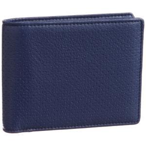 [ノイ・インテレッセ] 二つ折り財布(小銭入れ付き札入) ナーデル ネイビー