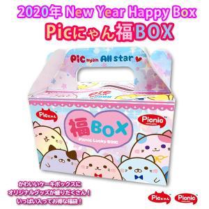 【1月3日発売】【同梱不可】2020年福袋 Picnic Picにゃん福BOX 5点入り 2178円 オリジナルBOX スクイーズ SQUEEZE スライム