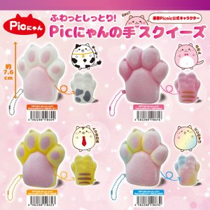 【5月27日発売】スクイーズ SQUEEZE ふわっとしっとり Picにゃんの手 原宿Picnic ピクニック