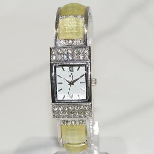 [イズ]eS レディース 腕時計 バングルタイプ e81000 シルバー 送料無料|shopping-ecoeco