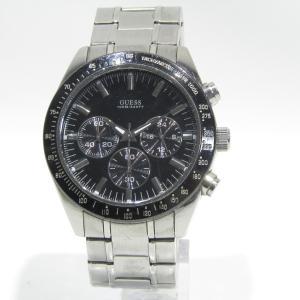 GUESS(ゲス) WATERPRO 腕時計 メンズ  USED品 送料無料|shopping-ecoeco