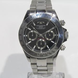 テクノス クロノグラフ腕時計 TGM615 クォーツ USED品 送料無料|shopping-ecoeco