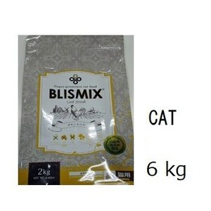 Blismix ブリスミックス 猫用 チキン 6kg 賞味期限2020.06.06+60gx4袋|shopping-hers