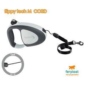 イタリアferplast社製伸縮リード フリッピーテック M コードタイプ 5m〜Flippy Tech M cord〜 shopping-hers