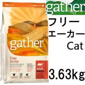 Gather ギャザー フリーエーカー キャット 3.63kg+ブリスミックス60gx2袋|shopping-hers