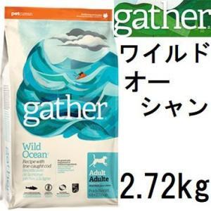 Gather ギャザー ワイルドオーシャン 2.72kg+フィッシュ4シージャーキー15g|shopping-hers