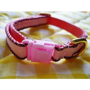hers wear 1.0センチ幅 首輪 ピンク SSサイズ|shopping-hers
